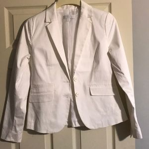 New York and Company White Blazer.